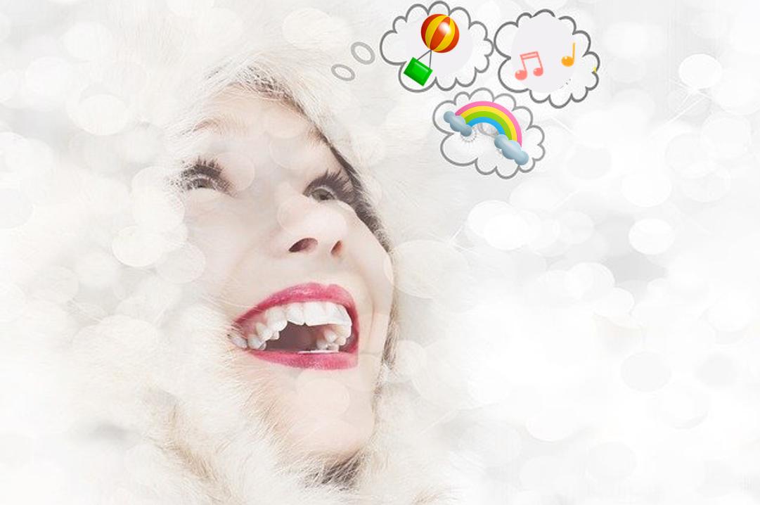 Dejar entrar en tu mente pensamientos positivos para sentirte más feliz.
