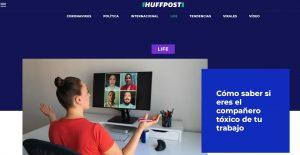 Entrevista a Teressa Zafra (coach profesional oblucaoching.com) en Huffington Post (#Huffpost)